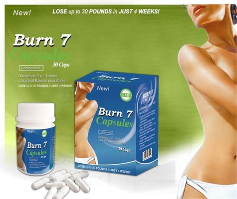 Private Label Specially Formulated Weight Loss Pills for Women Fat Burner Supplement Burn 7 Weight Loss Capsule